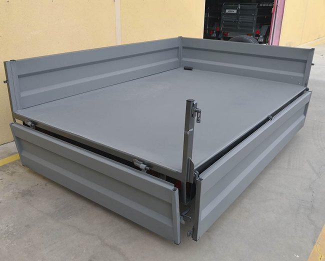 Remolque 750 kg laterales abatibles y desmontables-2
