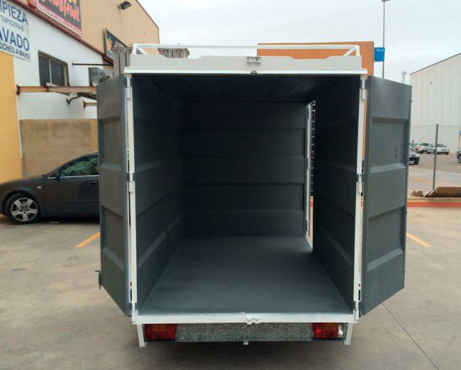Remolque-furgon-cerrado-CHAPA-PLEGADA-+-techo-elevable-1-eje-con-freno---REMOLQUES-AYALA--7