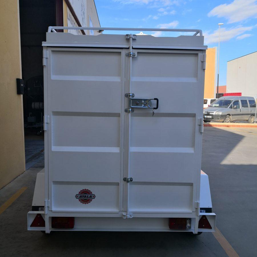 furgon puerta doble hoja