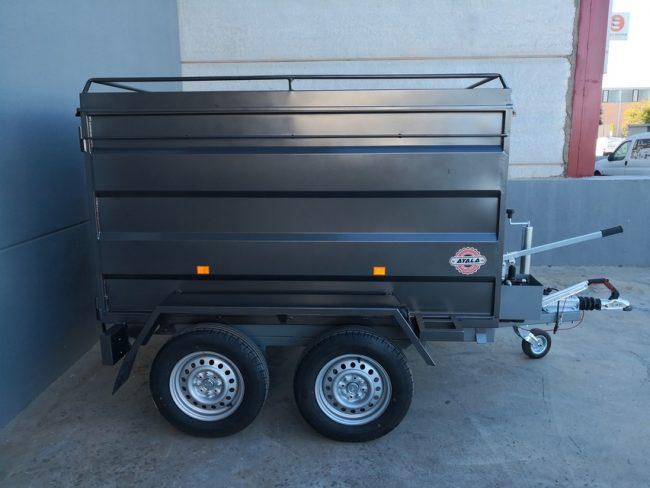 remolque tipo furgon 2 ejes