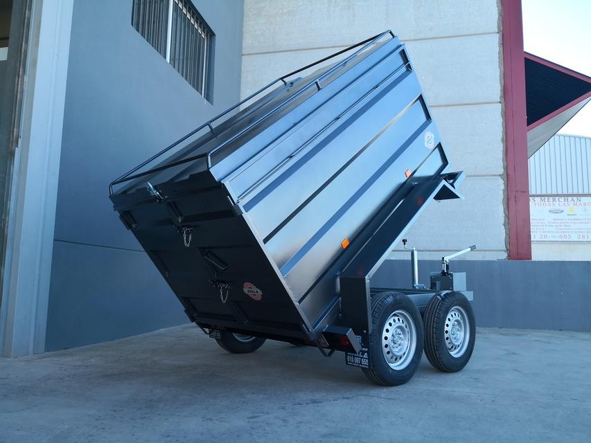 remolque 750kg basculante hidraulico